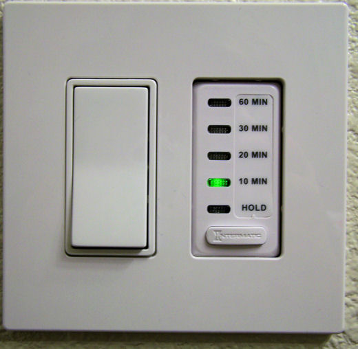 bathroom fan timer and light switch sustainable bathrooms and closets watts up with that 24874