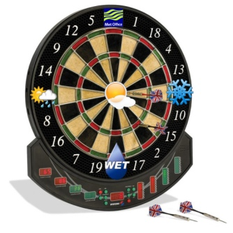 Met Office Dartboard