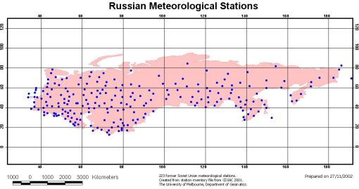 GISS, NOAA, GHCN and the odd Russian temperature anomaly