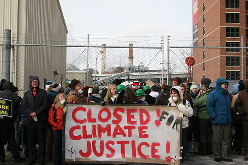 closed-for-climate-justice