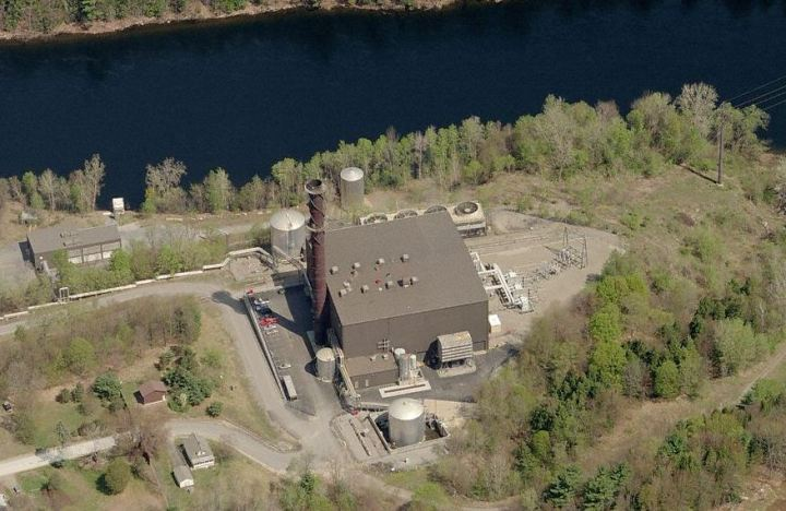 Corinth Generating Station -click for interactive view- Source: Microsoft Live Earth