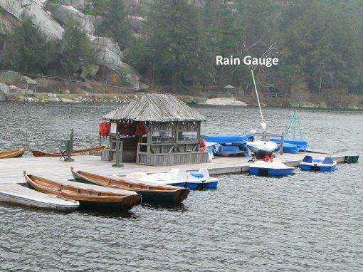 mohonk_lake_dock_rain_gauge_wideview