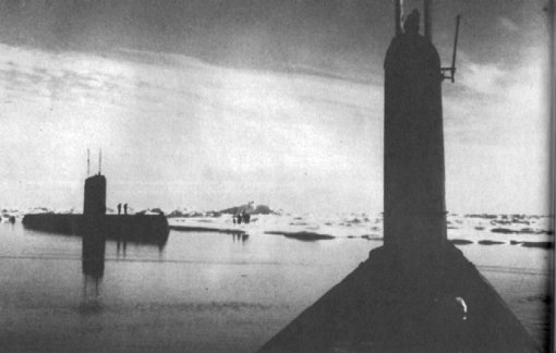 Ice at the North Pole in 1958 and 1959 – not so thick