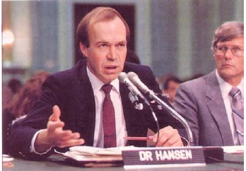 Hansens's 1988 testimony - the birth of the cap and trade temple