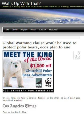 WUWT_Google_ad_polarbear