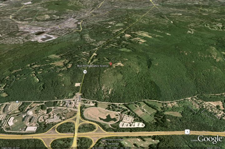 how to find surface area in google earth