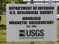 honolulu_geomag_observatory_sign