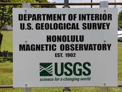 honolulu_geomag_observatory_sign