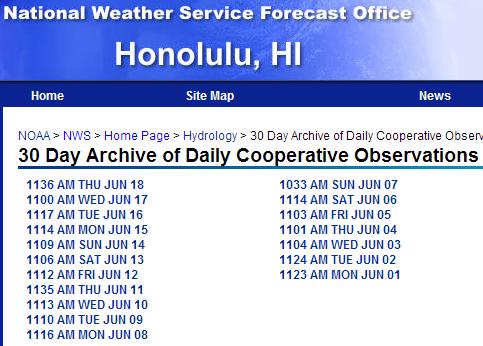 More on NOAA's FUBAR Honolulu