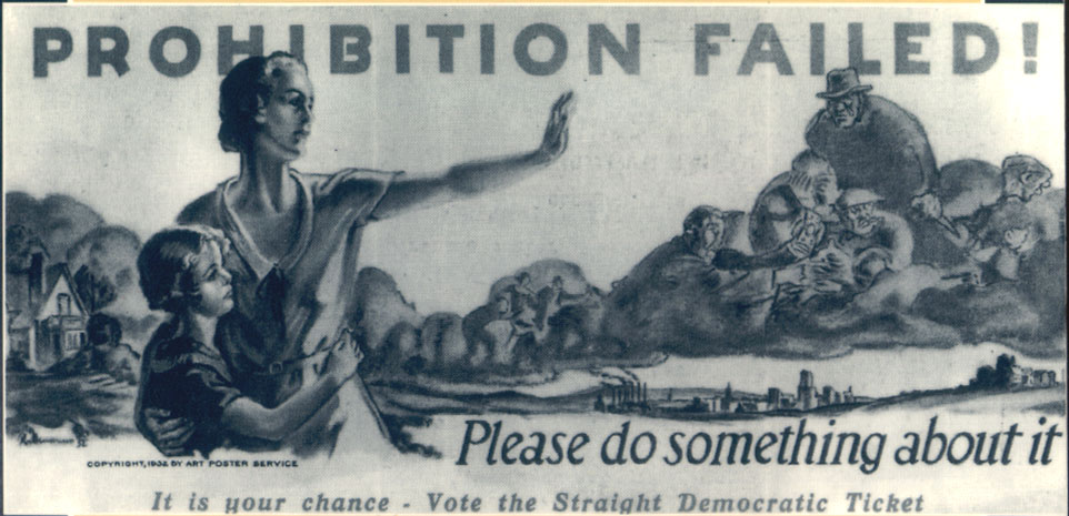 Prohibition Repeal Poster