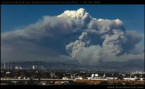 pyrocumulus_LA_fire