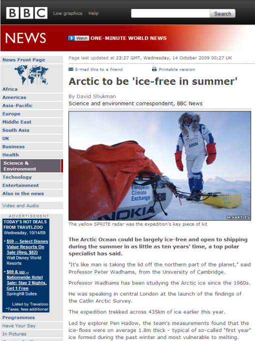 The Top Ten Reasons why I think Catlin Arctic Ice Survey