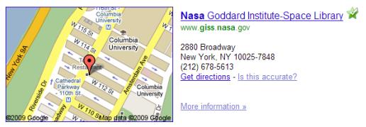 NASA_GISS_Google_map