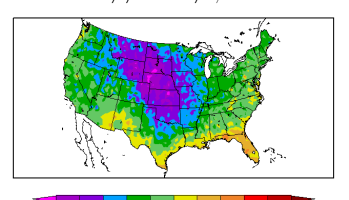Oddly Shaped Weather Map.Noaa S Odd Way Of Presenting February Temperatures Watts Up With That