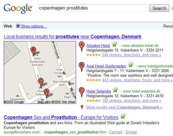 gropenhagen Now, the prostitutes have struck back, offering free sex to anyone who ...