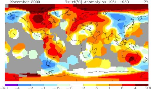 NASA -vs- NASA: which temperature anomaly map to believe