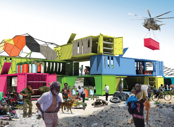 Just Crazy Enough To Work Shipping Containers For