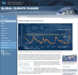 """The Science is Scuttled"" – NASA climate page, suckered by IPCC, deletes their own 'moved up' glacier melting date reference"