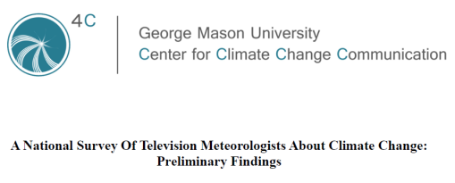 AMS/NWA sponsored survey of TV weathercasters: 63% Believe Global Warming is Mostly Natural