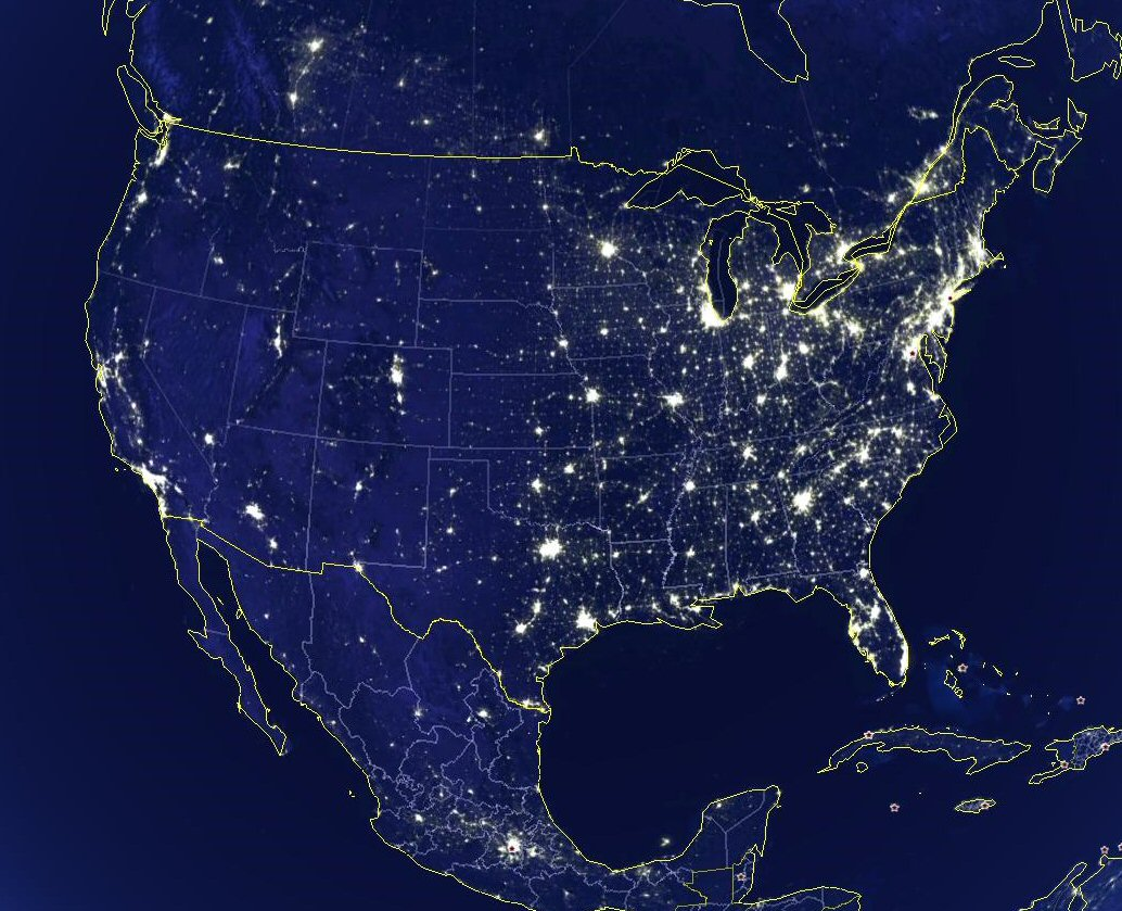 States Population Density Cities Map Map Of African American - Population density map of the us