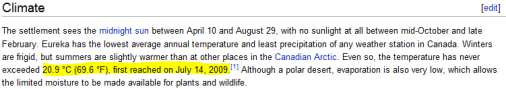 "Dial ""M"" for mangled – Wikipedia and Environment Canada caught with temperature data errors"