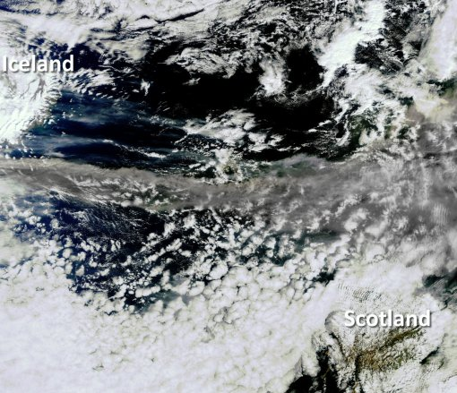 Iceland's volcanic ash cloud – airports closed in UK, Europe