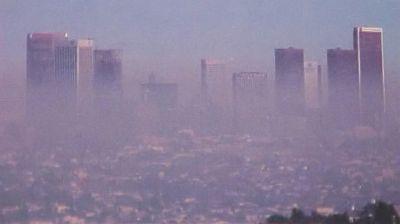 Smog in Los Angeles - Image NASA GSFC