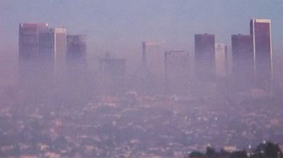 Smog in Los Angeles - Image NASA GSFC