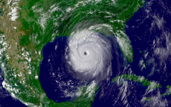 Hurricane Katrina, Aug 28, 2005
