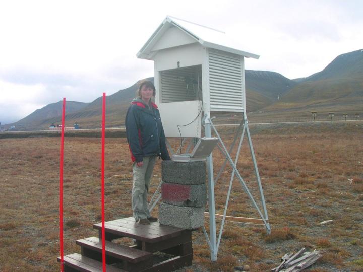 Stevenson Screen at Svalbard Lufthavn Airport