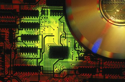 Computer circuit board and cd rom