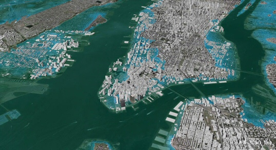 Freaking Out About NYC Sea Level Rise Is Easy To Do When You Dont - Rising oceans map