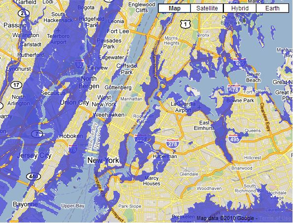 The Year FUD About Sea Levels Watts Up With That - Above sea level calculator
