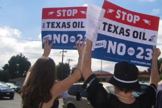 Protest against Proposition 23