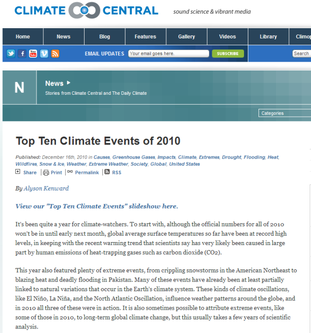 Climate Central confuses weather and climate – you help