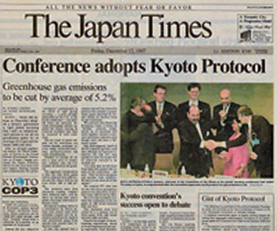 Japan refuses to extend Kyoto treaty at Cancun