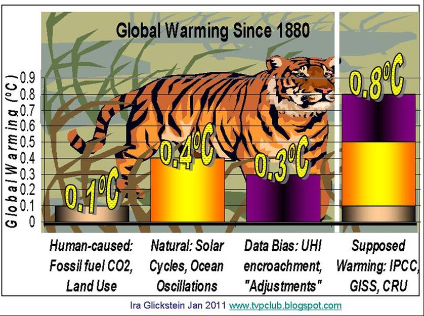 Tale of the Global Warming Tiger