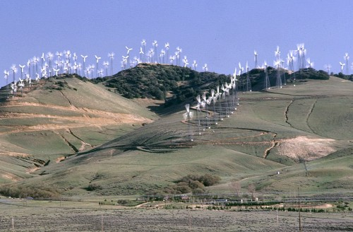 the reality of wind turbines in california video watts. Black Bedroom Furniture Sets. Home Design Ideas
