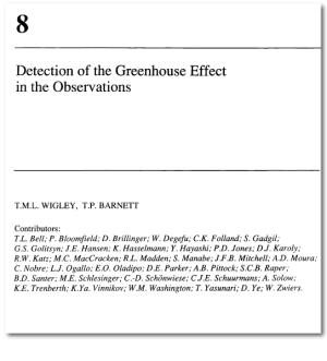 The IPCC, 1990: