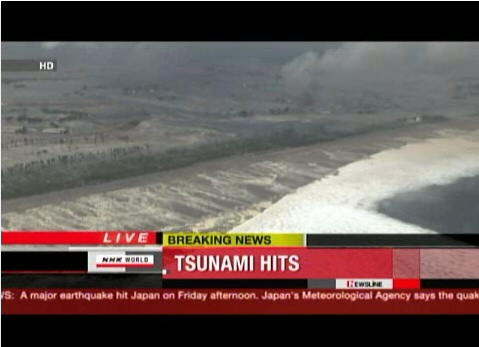 Monster earthquake off of Japanese coast: 8.9, Tsunami strikes ...