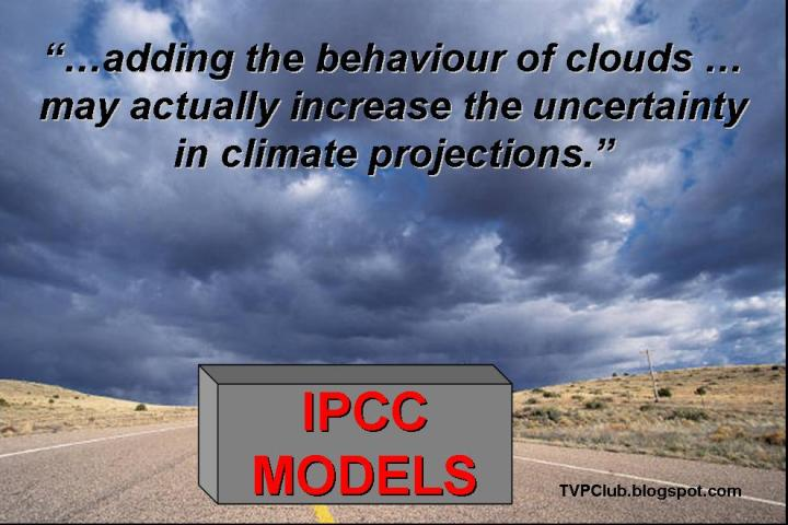 Clouds cast a shadow over IPCC climate models.