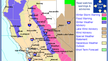 Snow in Los Angeles County, NWS Winter Advisory | Watts Up