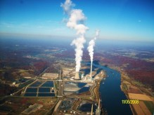 Mountaineer Power Plant - Image from Panaramio by Mcgiver1
