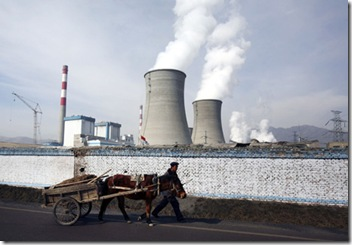 China's burgeoning coal power industry