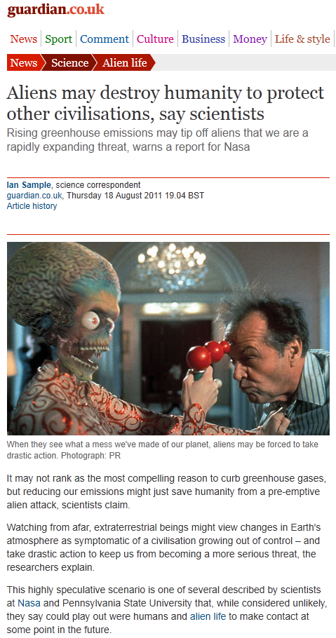 Bizarre, craptastic theory from the Guardian, Penn State