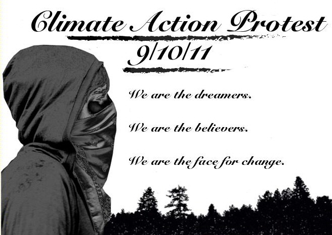 My Town S Climate Action Protest I Get To Be Zombietime