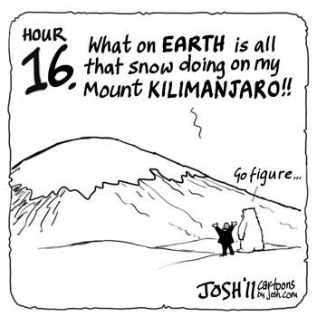 2006 - Al Gore: Was um alles auf der Welt macht der ganze Schnee auf meinem Mount Kilimanjaro