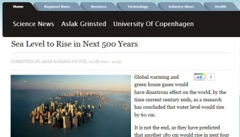 Freaking out about NYC sea level rise is easy to do when you