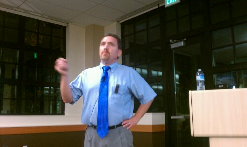 Dr. Ben Santer at CSUC