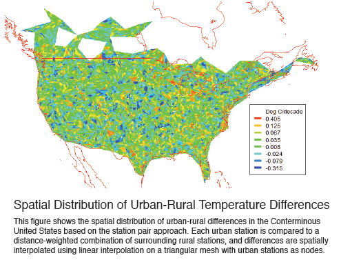 The Impact Of Urbanization On Land Temperature Trends Watts Up - Urbanization map us